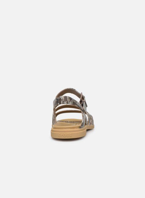 Sandali e scarpe aperte Crocs Crocs Tulum Sandal W Marrone immagine destra