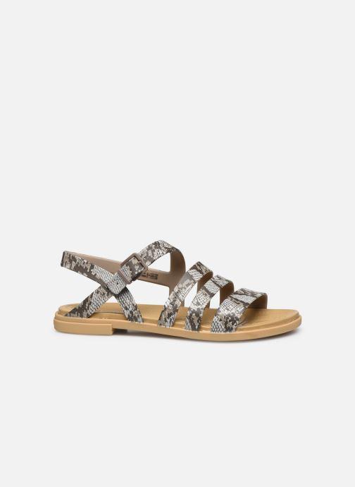 Sandali e scarpe aperte Crocs Crocs Tulum Sandal W Marrone immagine posteriore