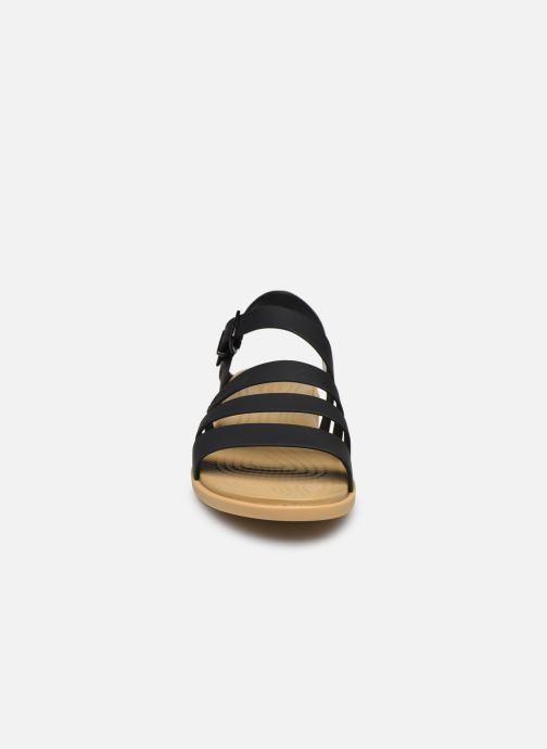 Sandali e scarpe aperte Crocs Crocs Tulum Sandal W Nero modello indossato