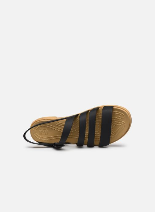 Sandali e scarpe aperte Crocs Crocs Tulum Sandal W Nero immagine sinistra