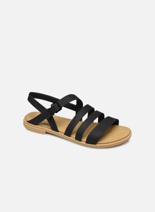 Sandales et nu-pieds Crocs Crocs Tulum Sandal W Noir vue détail/paire
