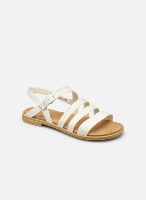 Sandalias Crocs Crocs Tulum Sandal W Blanco vista de detalle / par
