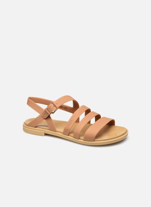 Sandalias Crocs Crocs Tulum Sandal W Marrón vista de detalle / par