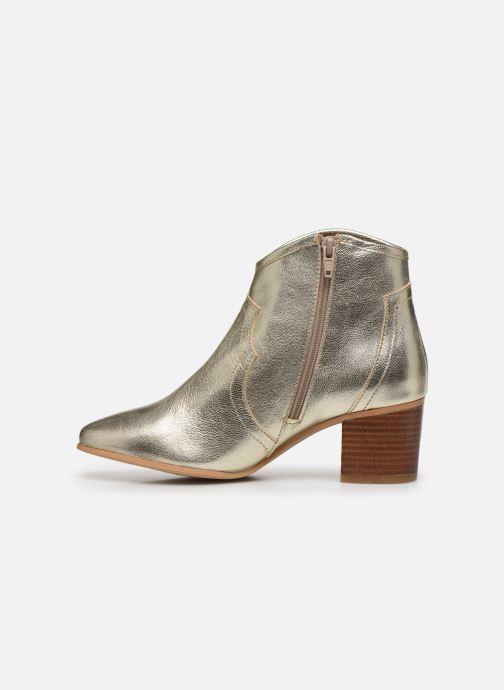 Boots en enkellaarsjes Georgia Rose Cerra Goud en brons voorkant