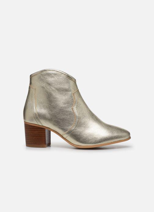 Boots en enkellaarsjes Georgia Rose Cerra Goud en brons achterkant