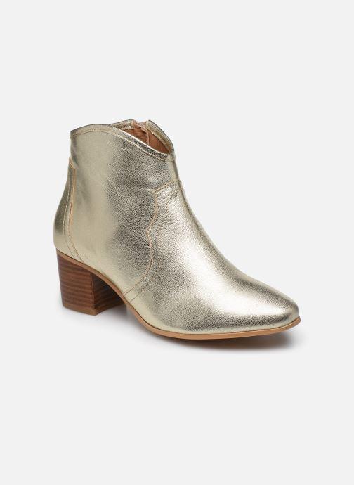 Bottines et boots Georgia Rose Cerra Or et bronze vue détail/paire