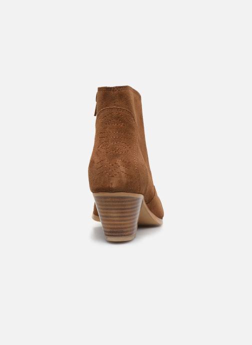 Bottines et boots Georgia Rose Costina Marron vue droite