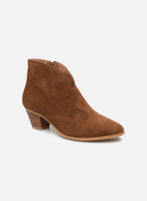 Bottines et boots Georgia Rose Costina Marron vue détail/paire