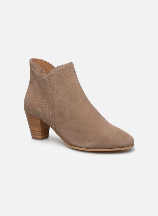 Boots en enkellaarsjes Georgia Rose Celinia Beige detail