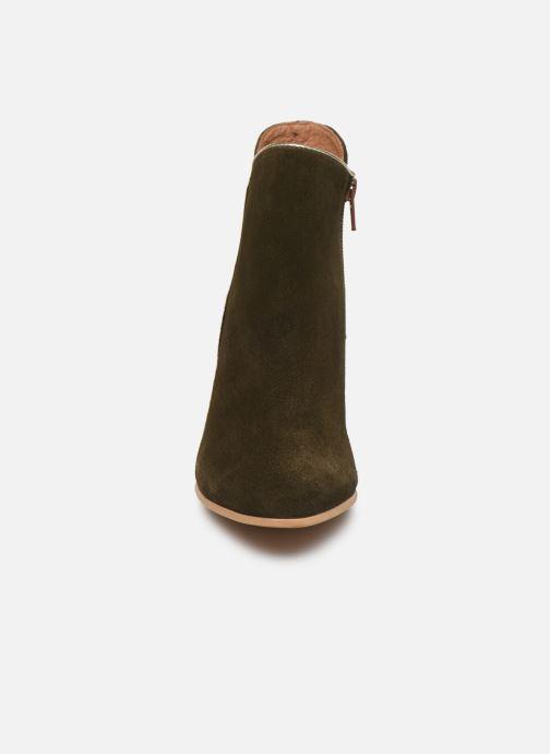 Bottines et boots Georgia Rose Celinia Vert vue portées chaussures