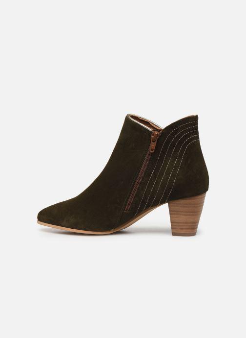 Bottines et boots Georgia Rose Celinia Vert vue face