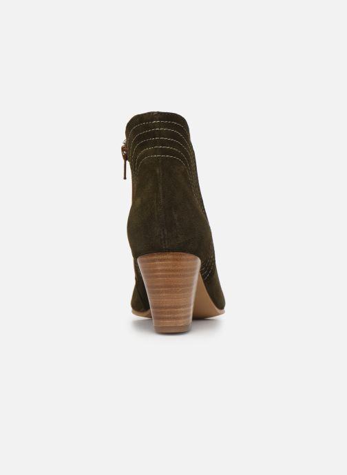 Bottines et boots Georgia Rose Celinia Vert vue droite