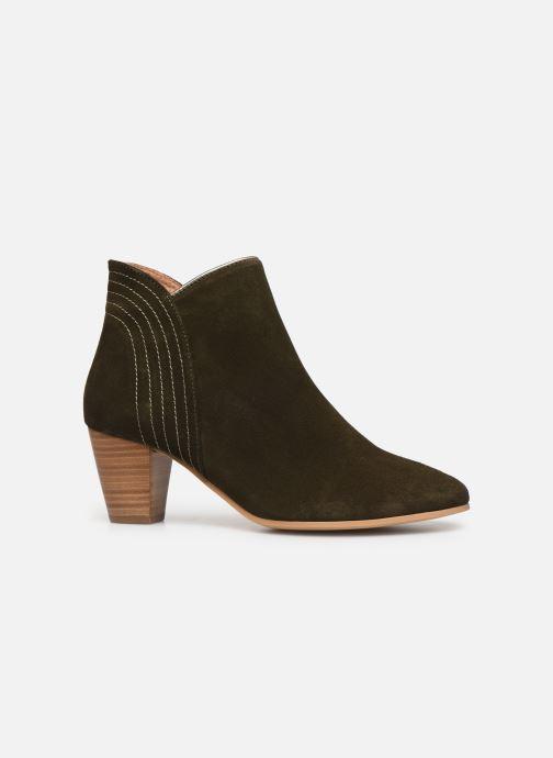Stiefeletten & Boots Georgia Rose Celinia grün ansicht von hinten