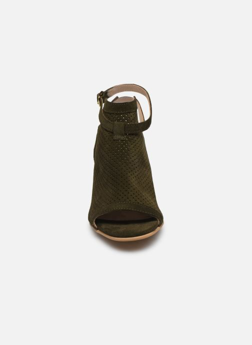 Sandales et nu-pieds Georgia Rose Calita Vert vue portées chaussures