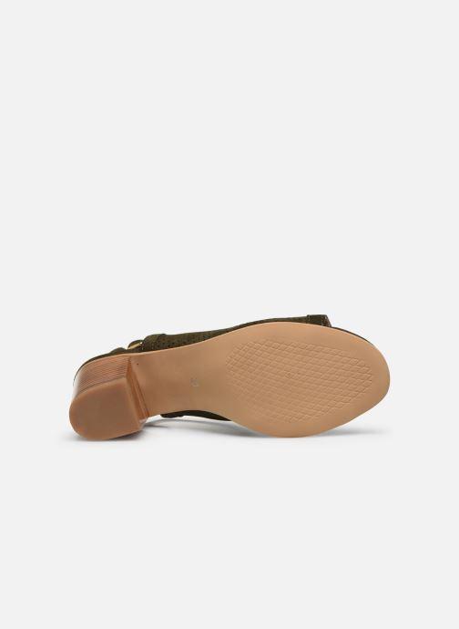 Sandales et nu-pieds Georgia Rose Calita Vert vue haut