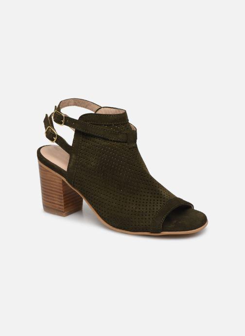 Sandales et nu-pieds Georgia Rose Calita Vert vue détail/paire