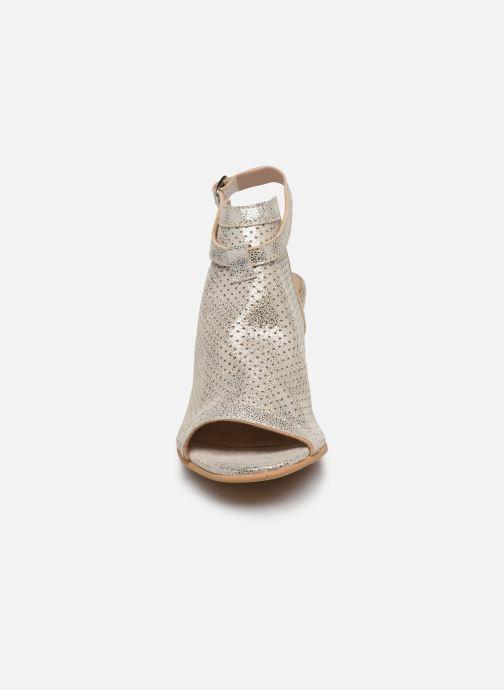 Sandales et nu-pieds Georgia Rose Calita Or et bronze vue portées chaussures
