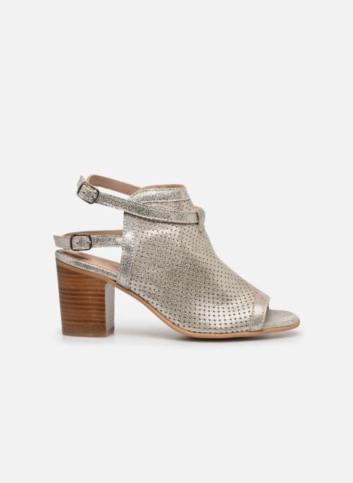 Sandales et nu-pieds Georgia Rose Calita Or et bronze vue derrière