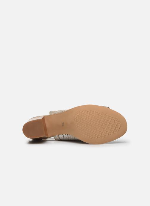 Sandales et nu-pieds Georgia Rose Calita Or et bronze vue haut