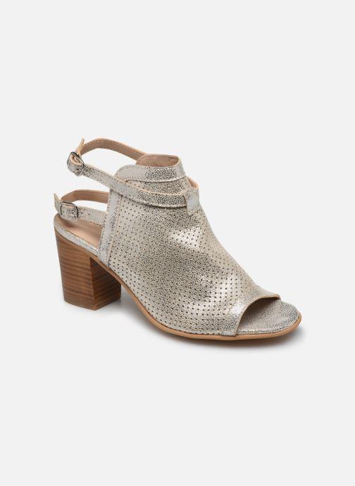 Sandales et nu-pieds Georgia Rose Calita Or et bronze vue détail/paire