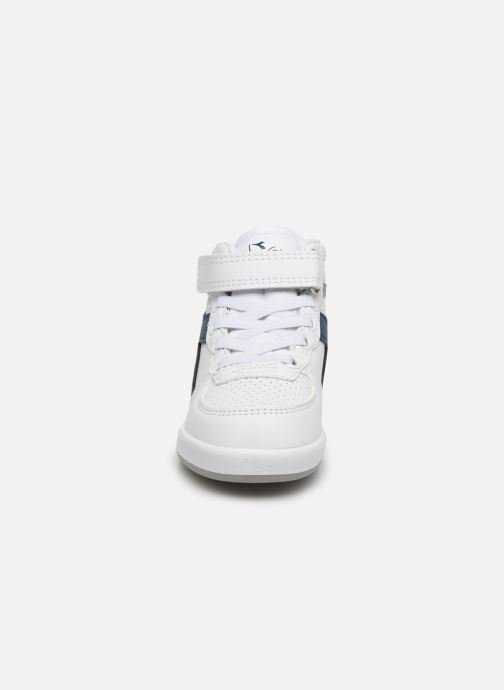 Trainers Diadora Playground H Td White model view