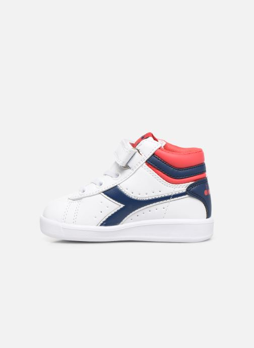 Sneakers Diadora Game P High Td Wit voorkant