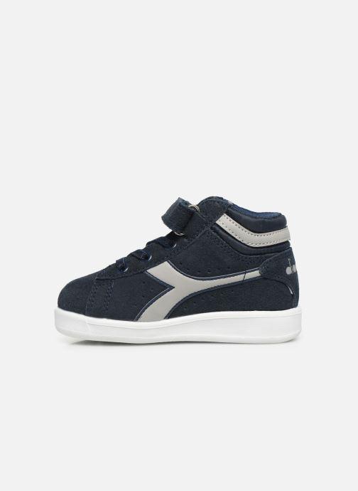 Sneakers Diadora Game S High Td Blauw voorkant