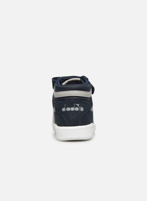 Sneakers Diadora Game S High Td Blauw rechts