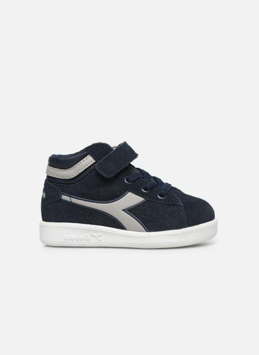 Sneakers Diadora Game S High Td Blauw achterkant