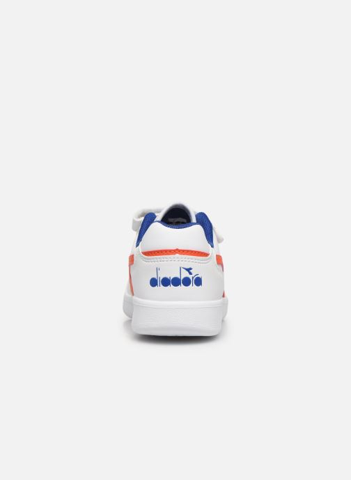 Trainers Diadora Playground Ps White view from the right