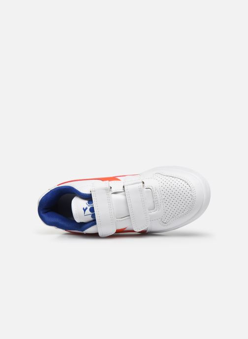 Trainers Diadora Playground Ps White view from the left