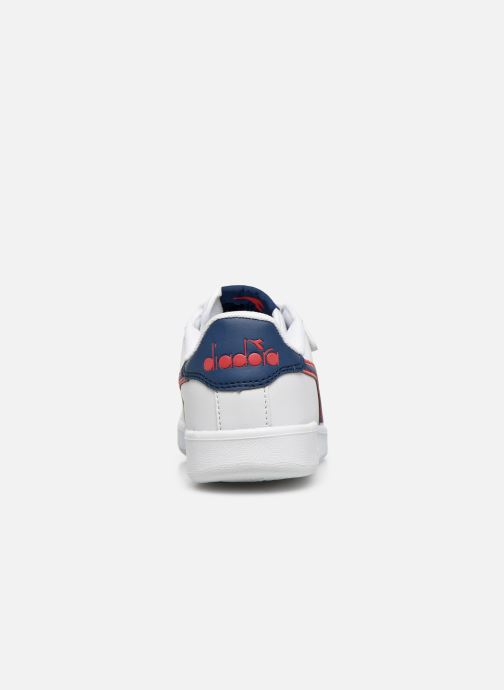Trainers Diadora Game P Ps White view from the right