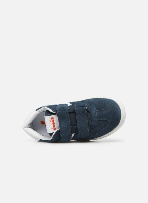 Sneakers Diadora Field Ps Blauw links
