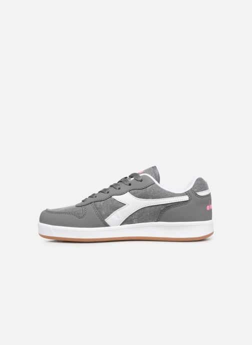 Baskets Diadora Playground Cv Gs Gris vue face