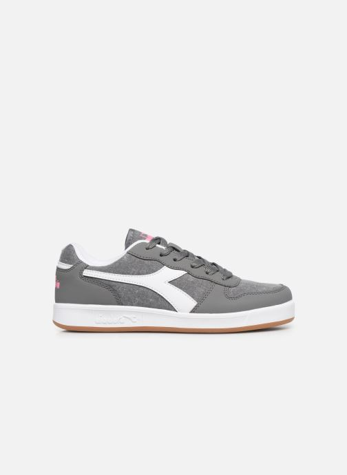 Trainers Diadora Playground Cv Gs Grey back view