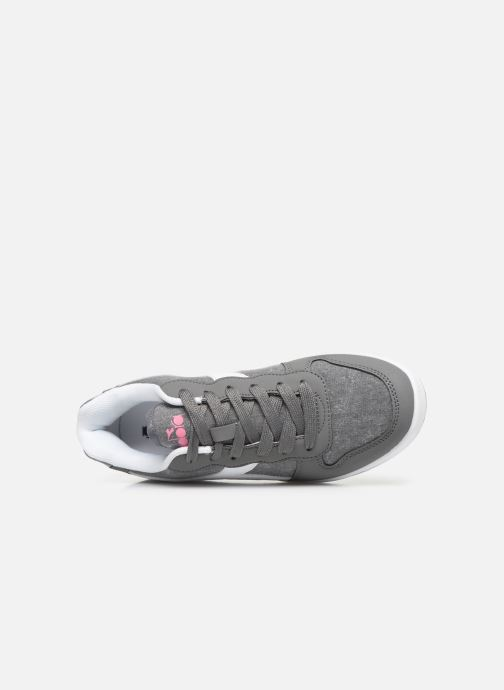 Trainers Diadora Playground Cv Gs Grey view from the left