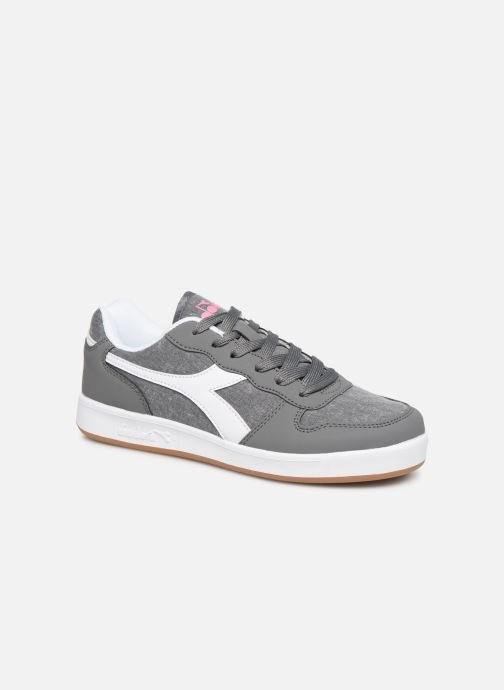 Trainers Diadora Playground Cv Gs Grey detailed view/ Pair view