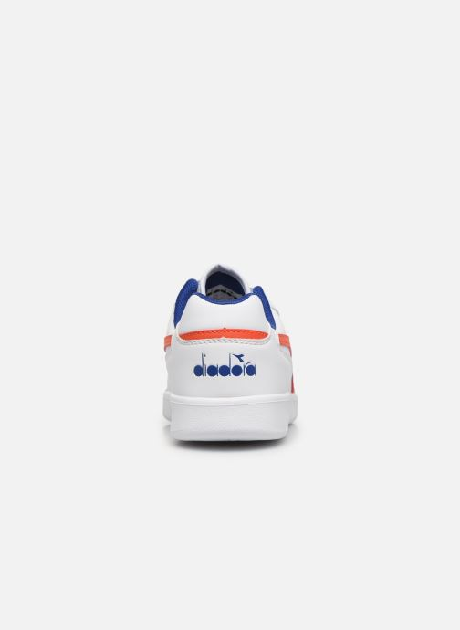 Trainers Diadora Playground Gs White view from the right