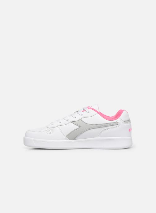Sneakers Diadora Playground Gs Wit voorkant
