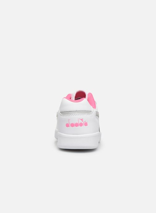 Sneakers Diadora Playground Gs Wit rechts