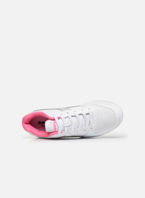 Sneakers Diadora Playground Gs Wit links