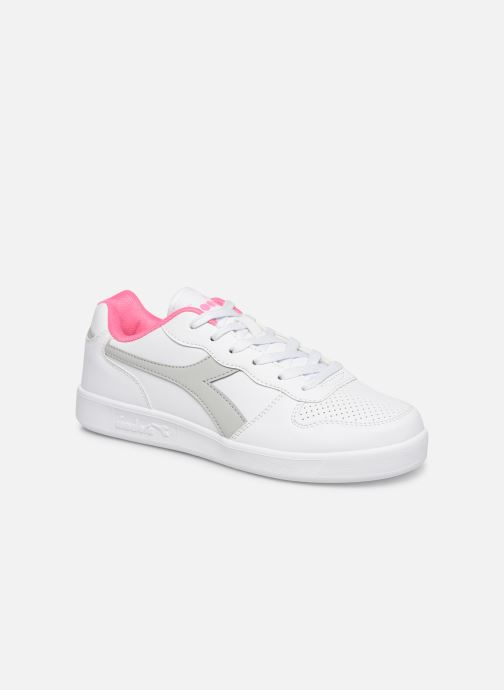 Trainers Diadora Playground Gs White detailed view/ Pair view