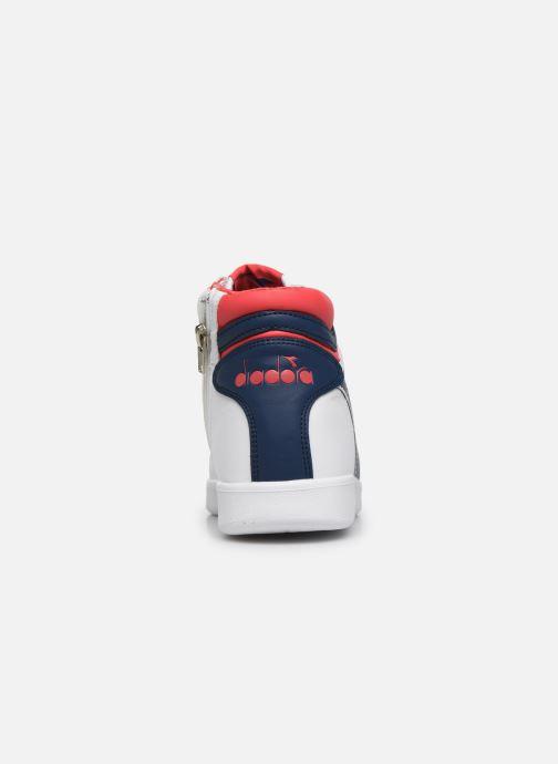 Sneakers Diadora Game P High Gs Wit rechts