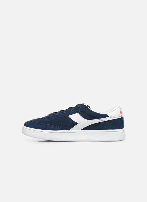 Sneakers Diadora Field Gs Blauw voorkant