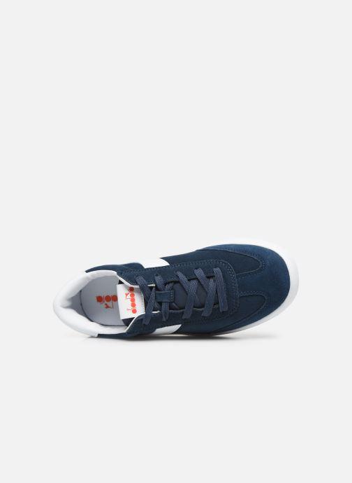 Sneakers Diadora Field Gs Blauw links