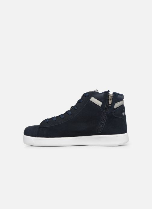 Sneakers Diadora Game S High Gs Blauw voorkant