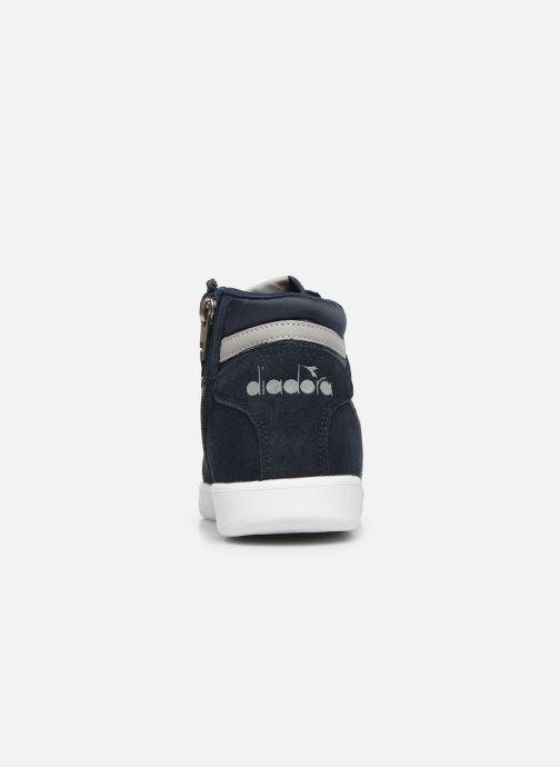 Sneakers Diadora Game S High Gs Blauw rechts