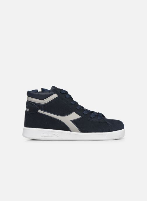 Trainers Diadora Game S High Gs Blue back view