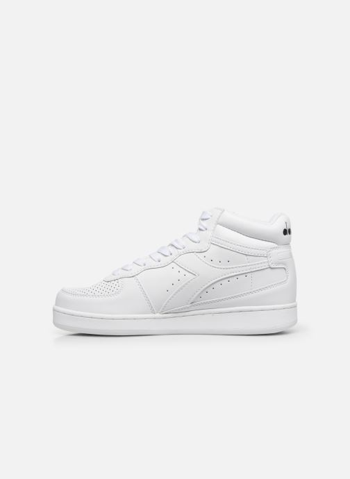 Sneakers Diadora Playground High Wit voorkant