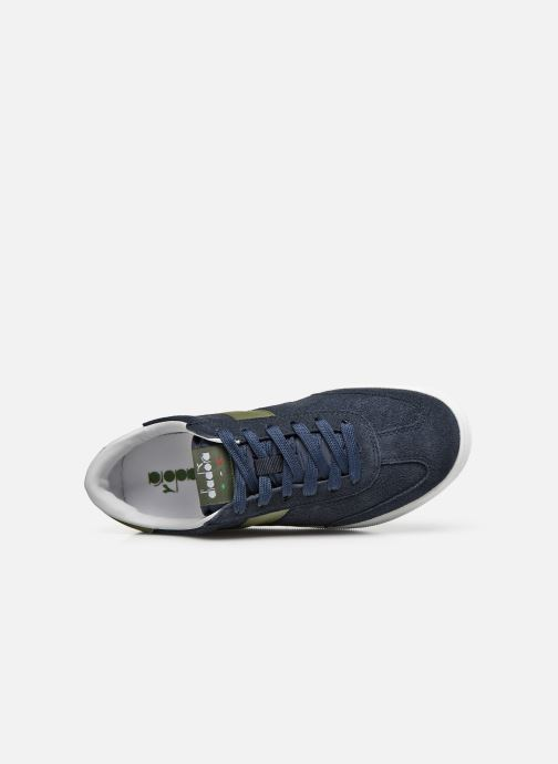 Sneakers Diadora Field Blauw links